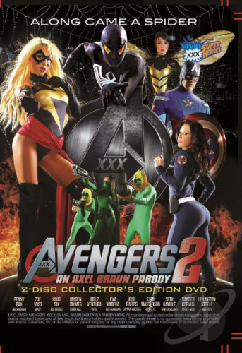 Avengers XXX 2 - Along Came A Spider