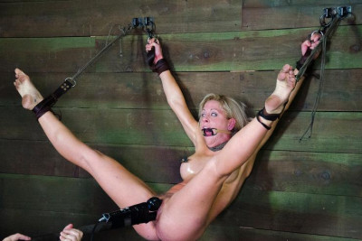 Sexy Blonde In Hard BDSM