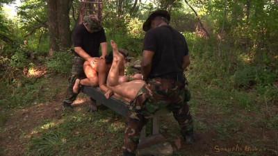 Outdoor Bondage, Rough Sex