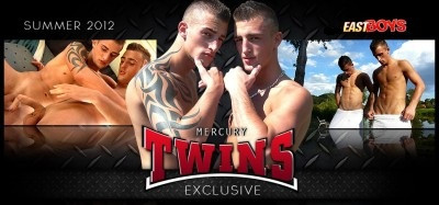 Exclusive Joseph and Roberto Mercury Twinks   part 2