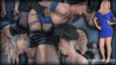 Simone Sonay worked over hard by 2 cocks, epic deepthroat on BBC, brutal fucking!
