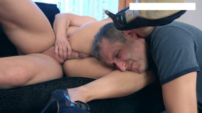 While I fucked lover, my husband was between her legs