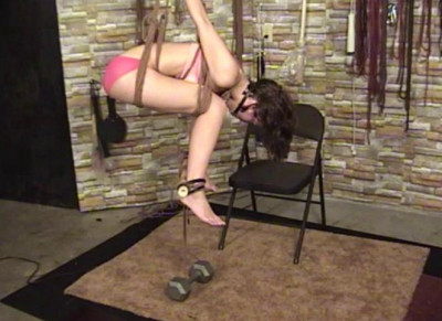 TB – Elise In Pink and Ropes Part 2