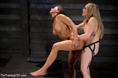 Lesbian Slave Training Ariel X — Featured Trainer-Aiden Starr