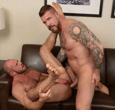 Rocco Steele and Matt Stevens - flanders gay travel.