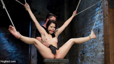 Sweet Yhivi Is Decimated In Brutal Bondage, Torment, And Screaming Orgasms