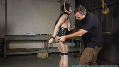 Rope  - Severe Tape Bondage for Rubee - Part 1