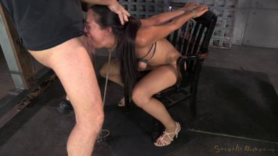 Lyla Storm brutally bound