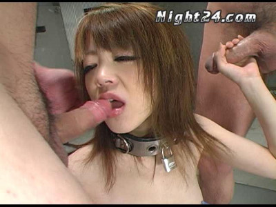 Asian Slut In Rough Gangbang