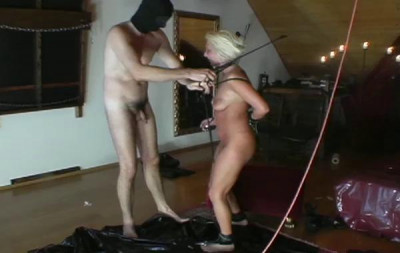 Strapped Fetish Sexy Blonde