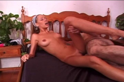 Horny girl with toy