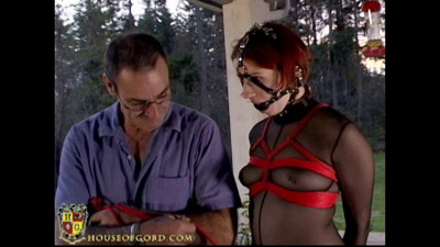Houseofgord – Red Rope Hogtie – Claire Adams HD 2015