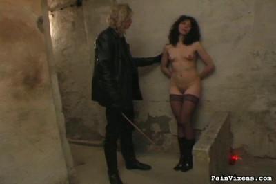 Brunette Captive Torment – PainVixens