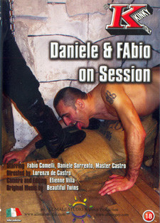 [All Male Studio] Daniele and Fabio on session Scene #4