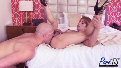 Athletic Latina TS Liz Gets Wrecked & Creampied, 1080p