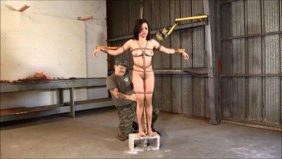The Suspended Crucifixion Of Monica Jade