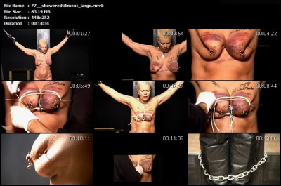 BrutalMaster – Skewered Tit Meat