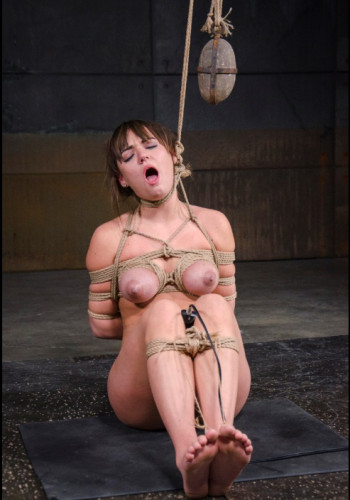 Big Tied Off Tits Get Tormented