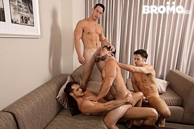 Bromo – Str8 Bitch Part 4 – Aspen, Addison Graham, Evan Marco & Tobias