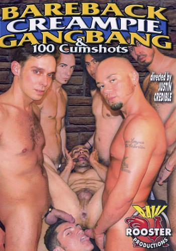 Bareback Creampie Gangbang