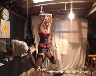 Ariel Ties Ropes Around Her Ankles… (2015)