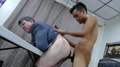 Daddy Blackmailed For Sex