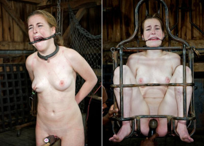 Pluck Part 3 - Sexy slut in bdsm action