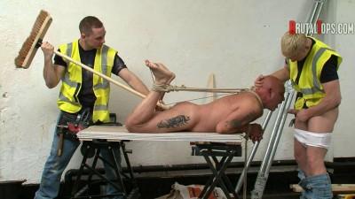 BDSM hard - Brutaltops gay Split best scene part 2.