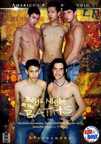 Boys Night At The Baths.
