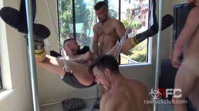 Folsom Fucking Four Part Two Derrick Hanson Aarin Asker Adam Avery Billy Warren (2015)