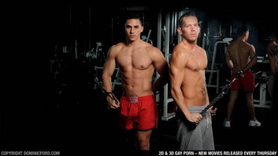 Gym Fuck: Topher DiMaggio & Shane...