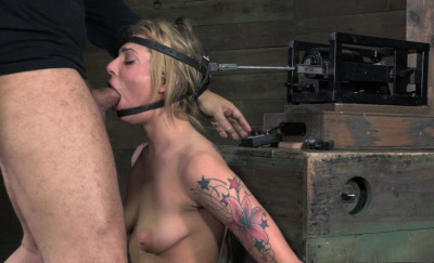 Beautiful Dahlia Sky bolted onto sybian