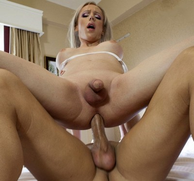 Blonde Juliette Gets What She Craves
