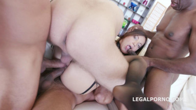 Roxy Dee 4 on 1 with Tap Dp Dap Ball_Deep_Action Gapes Crempiee 3 swallow (2016)