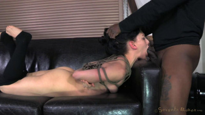 Tiny Elise Graves Ragdoll Fucked, Brutal Deepthroat
