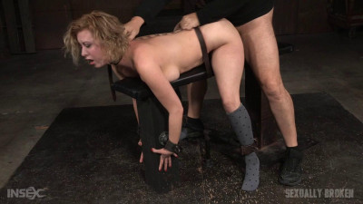Cherry Torn – Busty Big Butt Blonde Bent Over Belt Bound And Used Roughly By Hard Cock (2015)