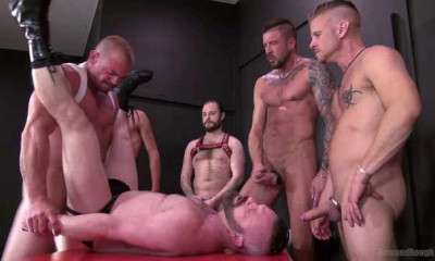 Raw Brutal Bears In Rough Gang Bang