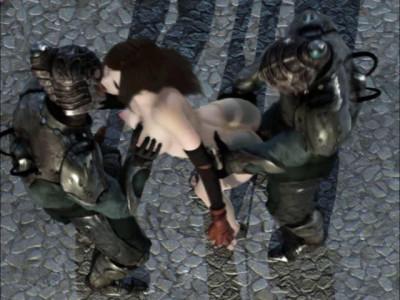 Fluid Fantasy Captured Slave – Hot 3d HD Video