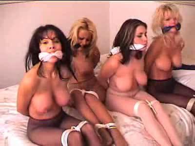Cory Lane, Stacy Burke, Mary Jane, Andrea Neal, Nina Neon, Crystal, Tammi - Bound & Gagged 11 (2001)