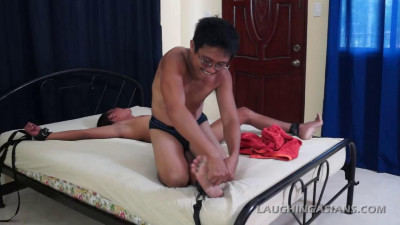 Ticklish Twink Javey (asian twink, asian boy, boy porn, straight men)