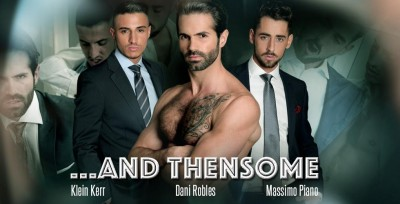 Men at Play - and Thensome - Dani Robles, Klein Kerr, Massimo Piano 1080p