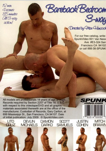 Spunk Video — Bareback Bedroom 3-Way