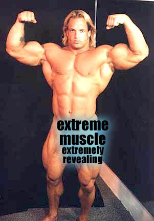 Extreme muscle Bruce Patterson