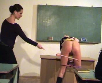 Spanking – Mrs Geists Class