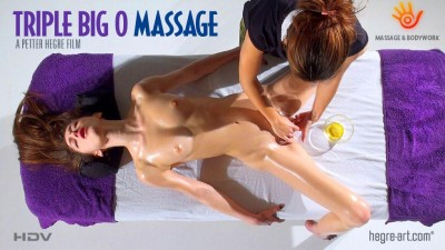Hegre-Art — Mirabell — triple big o massage