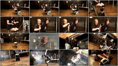 Strappado Meets Tied (Yvette Costeau) SuperTightBondage
