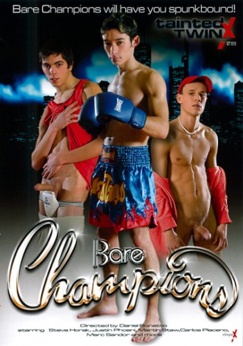 Description Bare Champions (Hardcore Bareback Action) - Marco Bill, Steve Horak, Justin Phoeni