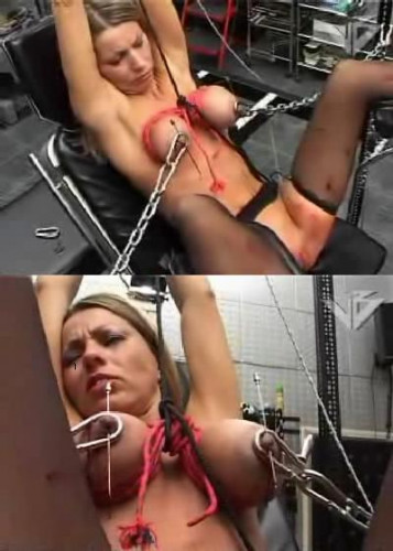 Hot BDSM Torture To Nipple