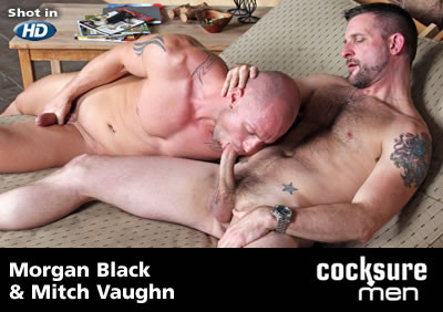Morgan Black and Mitch Vaughn