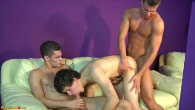 Ivan Prado, Scott Haux and Shane Barrett